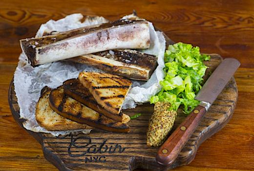 The cabin bone marrow