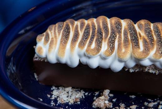The cabin smores dessert