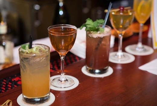Edible manhattan good spirits line of cocktails love