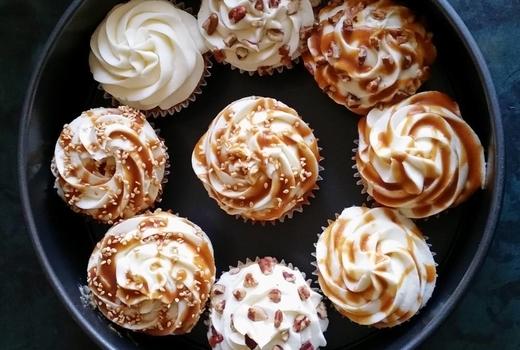 Edible manhattan good spirits cupcakes