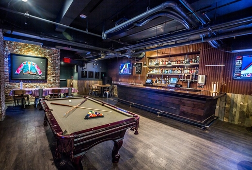 Printers alley pool table