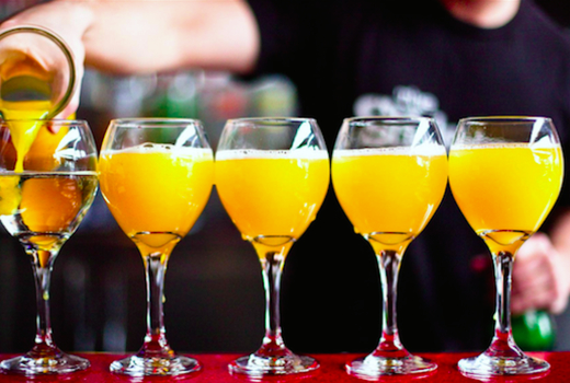 Printers alley bottomless mimosas