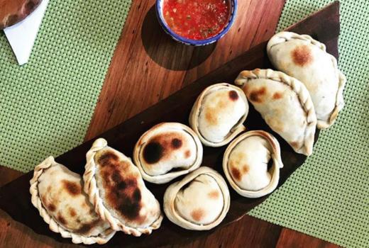 Wine fest empanadas yum