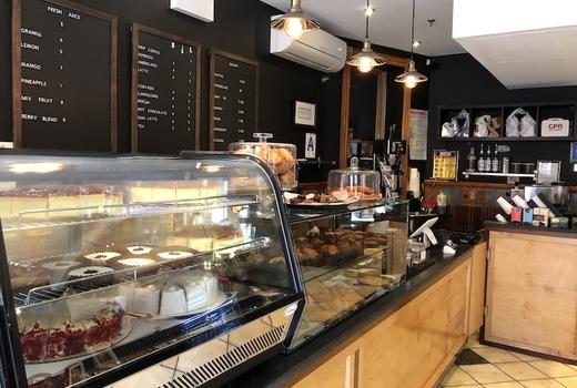 Davidovich bakery inside counter