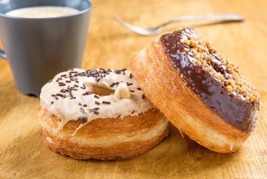 Davidovich bakery cronut glazed