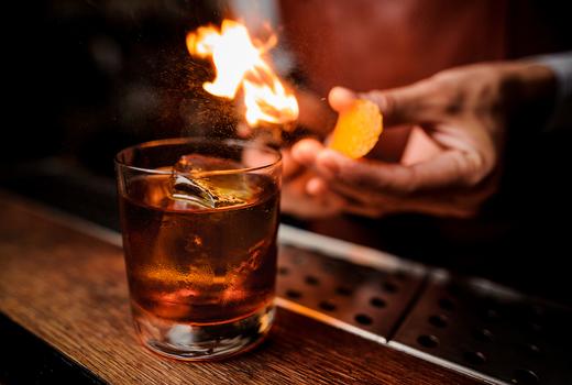 Spring tippler fire drink zest
