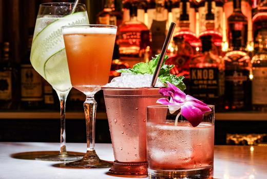 Spring tippler cocktails lineup