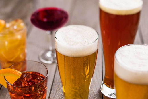 Craft beer festival drinks