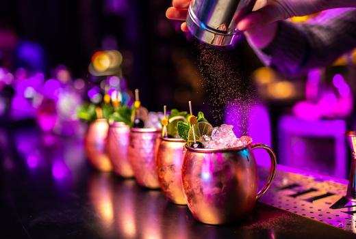 Hudson terrace pop sugar cocktails mules