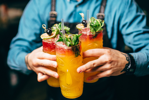 Hudson terrace pop sugar cocktails