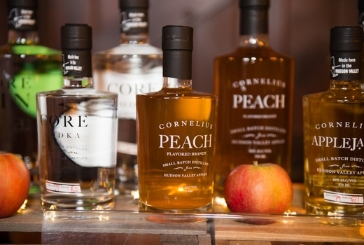 Craft distillers peach