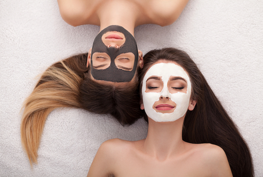 Candy spa friends spa day facial masks