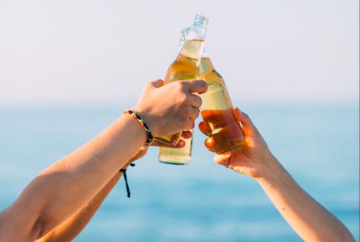 Manhattan by sail 2019 beers bottles cheers love