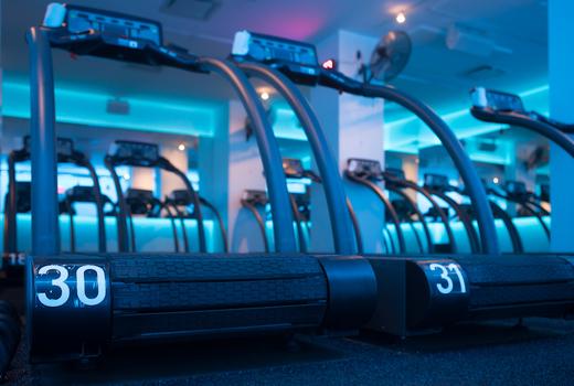 Mile high run club treadmills
