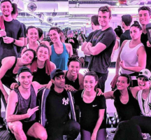 Mile high run club customers happy friends