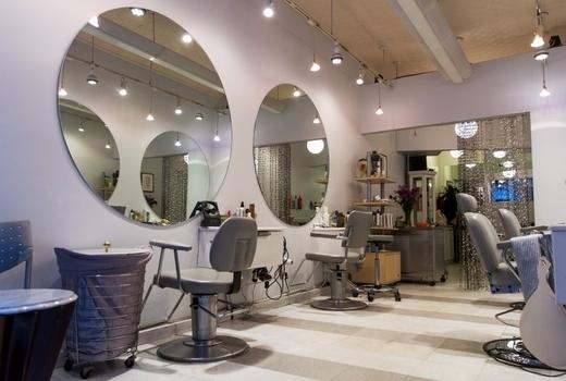 Anonymous hair salon inside nyc