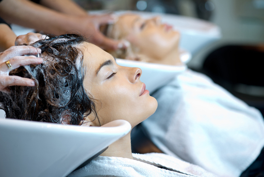 Anonymous salon shampoo conditioner