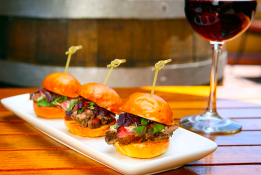 The liberty sliders meat wine