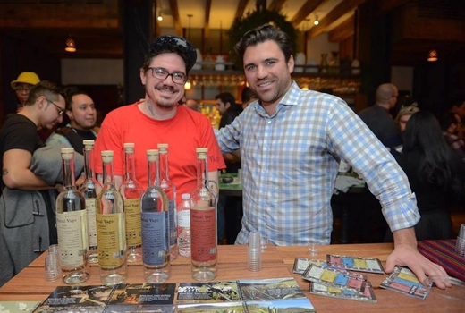 Panorama mezcal bottles tasting nyc