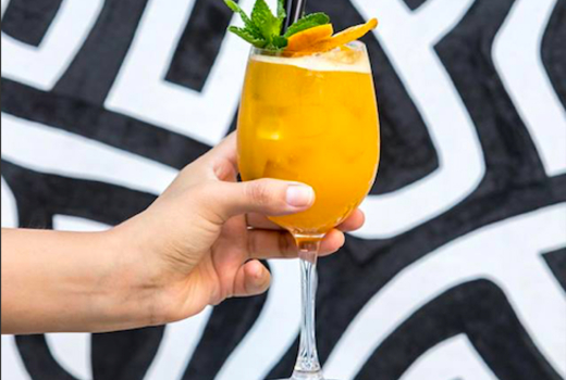 Hotel chantelle cheers cocktail juice