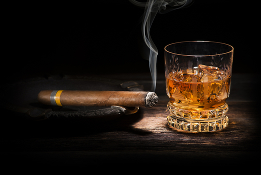 Harlem whiskey renaissance cigar