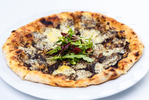 Wild brunch truffle pizza cheese