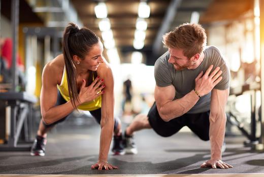 Exude fitness trianer planks workout