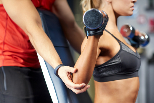 Exude fitness weights workout nyc personal trainer