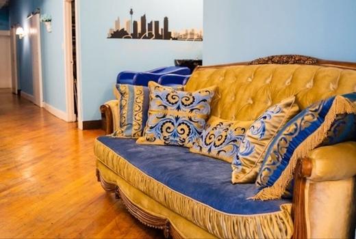 Gc salon hair waiting room sofa colors