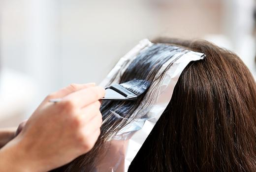 Gc salon hair color foils dark hair highlights ombre
