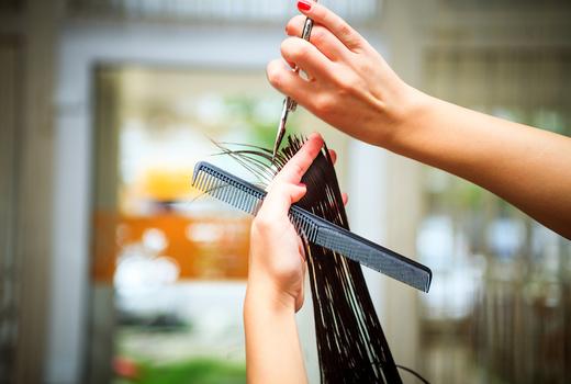Gc salon hair cut scissors comb