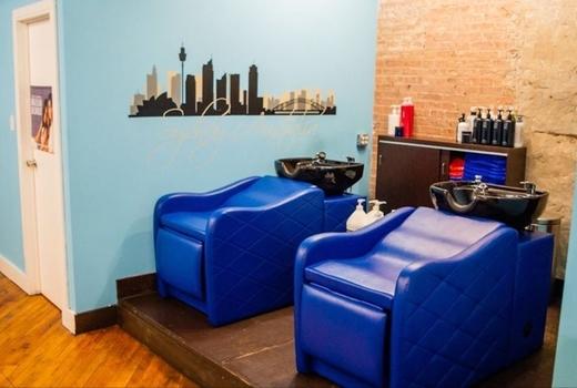 Gc salon hair wash leather clean