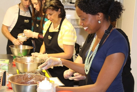 Mia chef gelateria making ice cream class