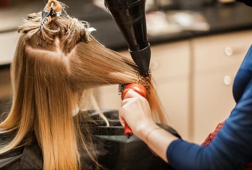 Gc salon hair blow dry long locks