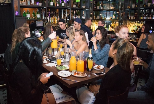 The ainsworth fidi brunch firneds happy drinking love