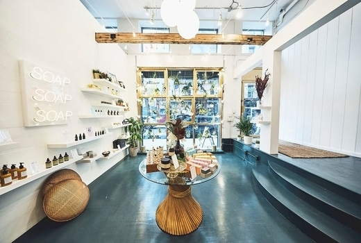 Marianella spa store inside