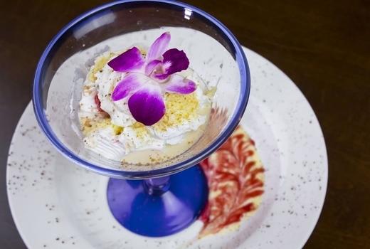 Buenavista dinner dessert tres leches