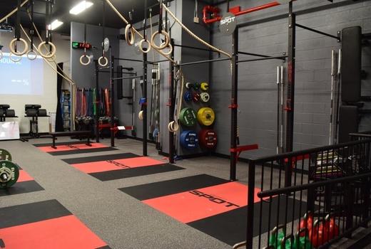 Crossfit spot nyc inside gym
