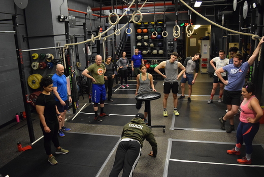 Crossfit spot nyc coach middle