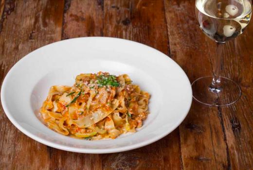Carroll place nyc pasta vino yum