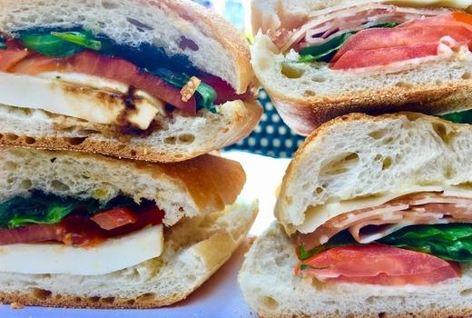 Pappardella sandwich