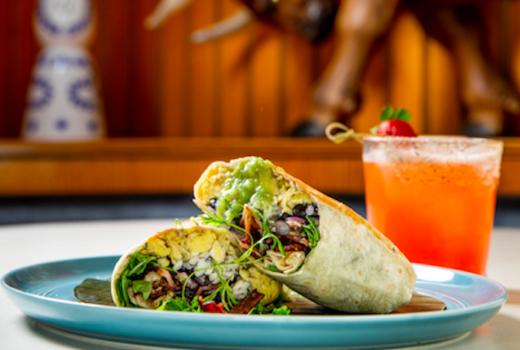 Tijuana picnic brunch burrito wrap sweet