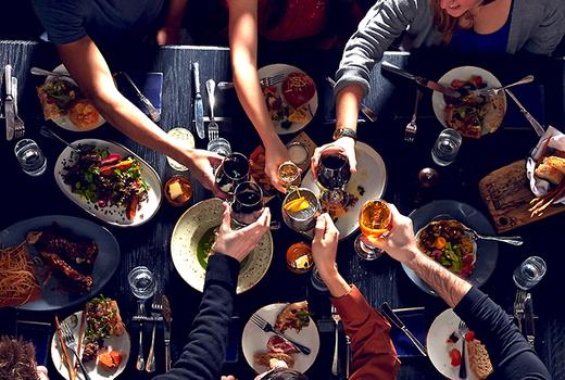 Blackbarn chefs table cheers