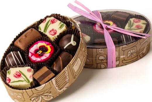 Li lac box of chocolates
