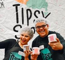 Tipsy scoop happy friends pints ice cream