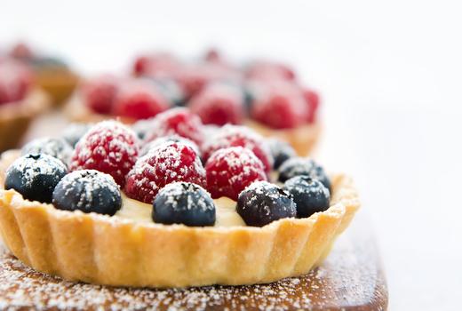 Eataly limoncello berry tart