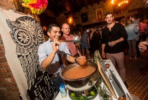 Art agave 2019 pouring punch sips