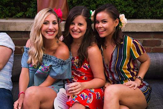 Arte agave women happy friends drinks