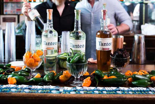 Art agave bottles tanteo