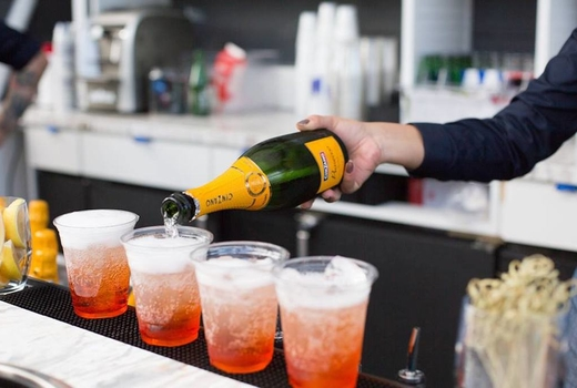 William vale pool party aperol spritz sips drinks